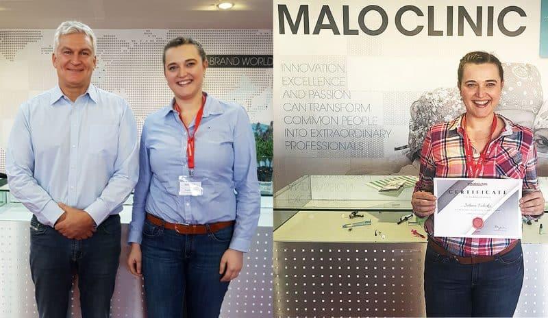 Naš ekspert za All On 4 ORIGINAL, Dr. Jelena Paliska na usavršavanju kod izumitelja originalnog koncepta Dr. Paula Malóa